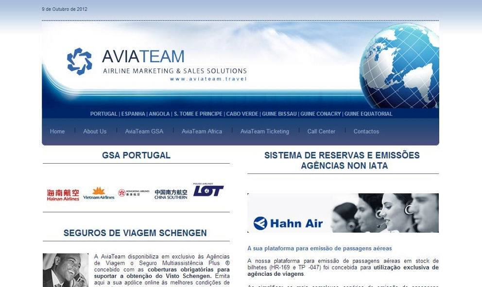 AVIATEAM - AIRLINE MARKETING & SALES SOLUTIONS